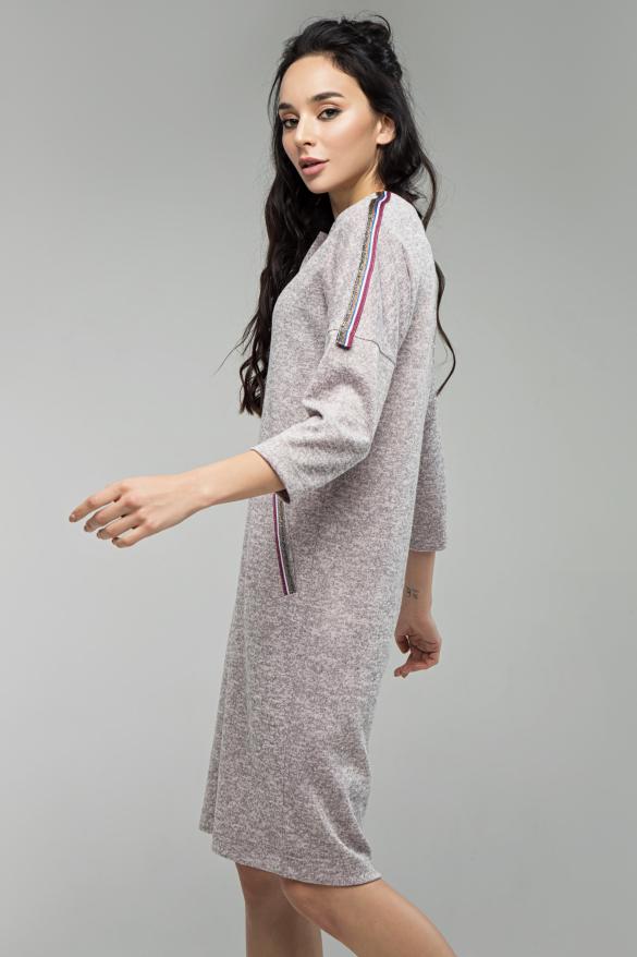 Платье Лиза пудра