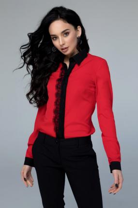 Блузка Классик красный