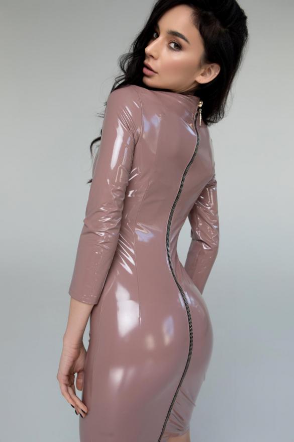 Платье Лаки пудровый