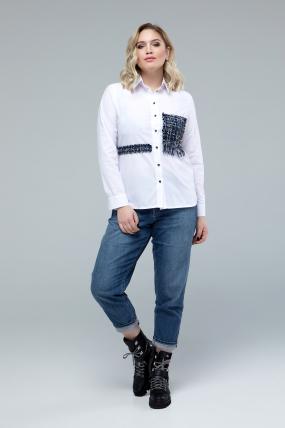 Рубашка Диана белый 1774