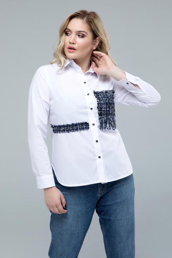 Рубашка Диана белый