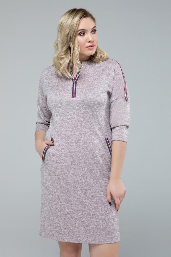 Сукня Ліза пудра