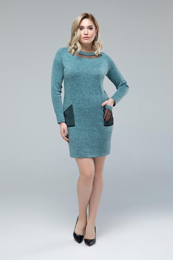 Платье Таиса мята