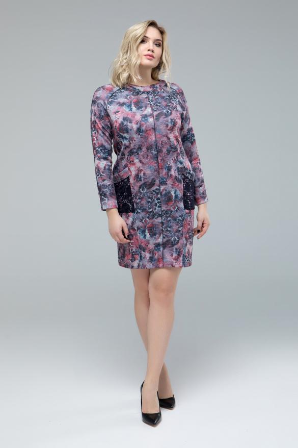 Платье Ливия цветочный принт