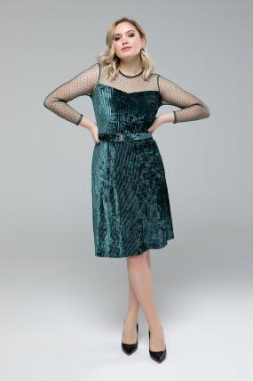 Платье Дина изумрудный 1829