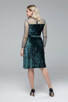 Платье Дина изумрудный 1831