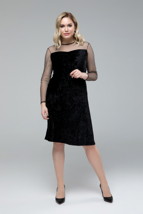Платье Дина черный