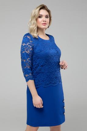 Сукня Ксеня синій 1844