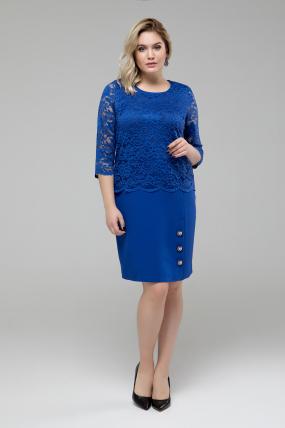 Платье Аксения синий
