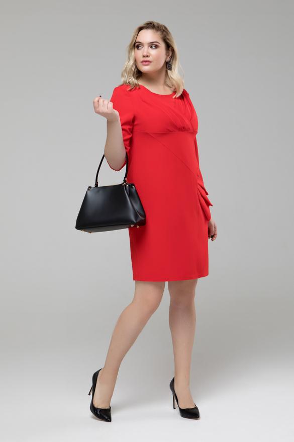 Платье Эврика красный