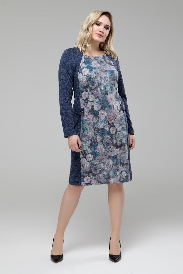 Сукня Лора синій