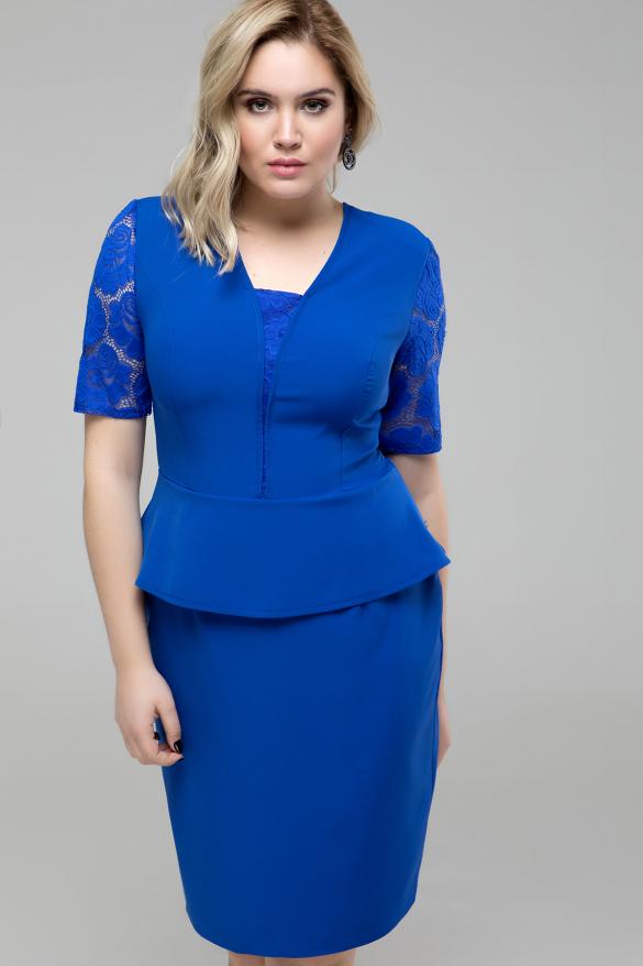 Платье Наргиз электрик