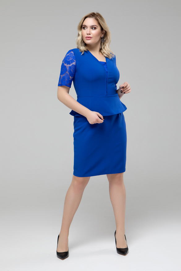 Сукня Наргиз електрик