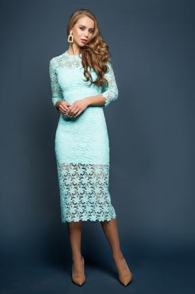 Платье Моника мята 1868