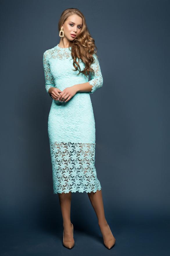 Платье Моника мята