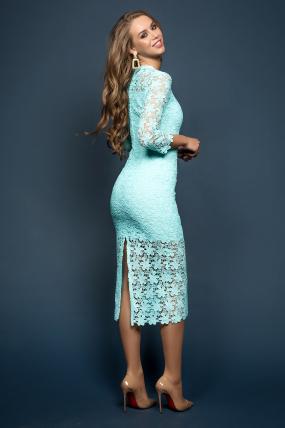 Платье Моника мята 1869