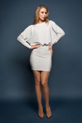 Сукня Мілена сріблястий