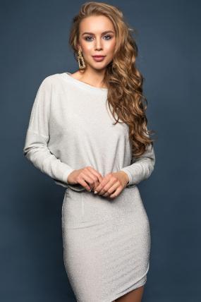 Сукня Мілена сріблястий 1876