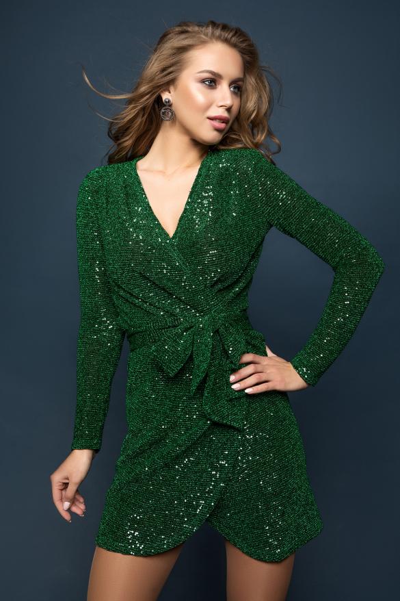 Платье Ева изумрудный