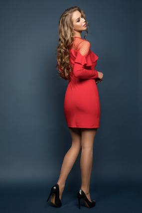 Платье Венера красный 1917