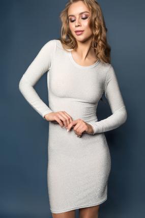 Сукня Лоліта сріблястий 1931