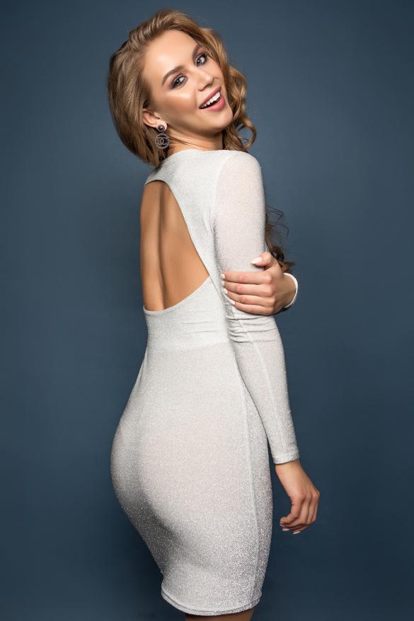 Сукня Лоліта сріблястий