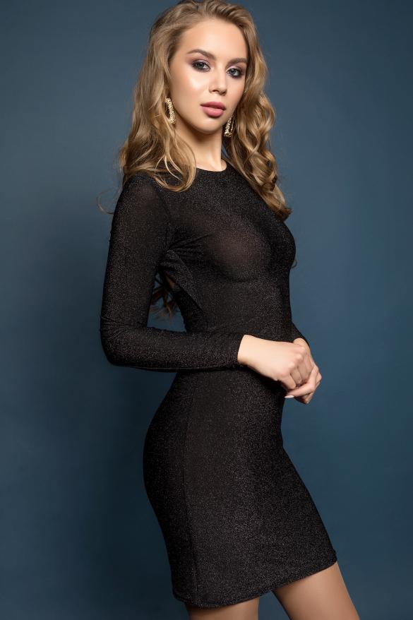 Платье Лолита черный