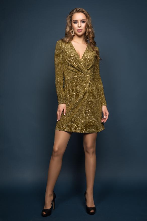 Сукня Меган золотий