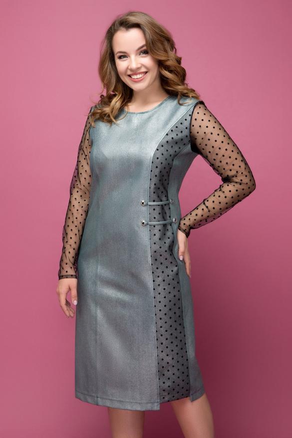 Платье Тереза серебро