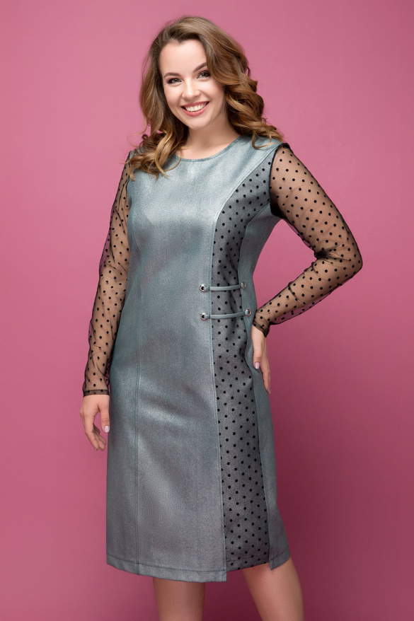 Сукня Тереза срібло