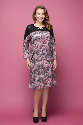 Сукня Азіза кольоровий принт