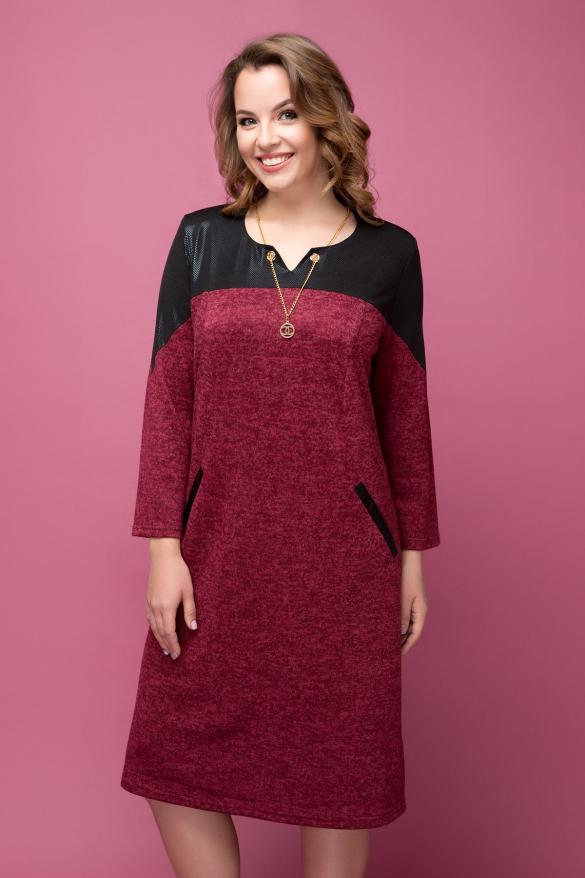 Платье Азиза марсала