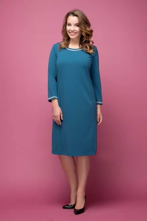 Платье Гирлянда бирюзовый