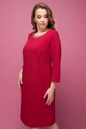 Платье Гирлянда темно-красный 1997