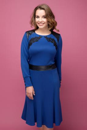 Платье синее Тома 2020