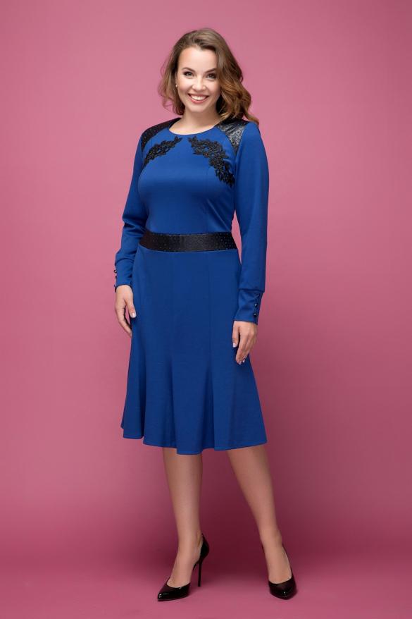 Платье синее Тома