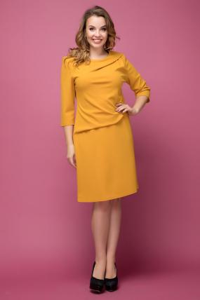 Платье желтое Бриллиант 2025