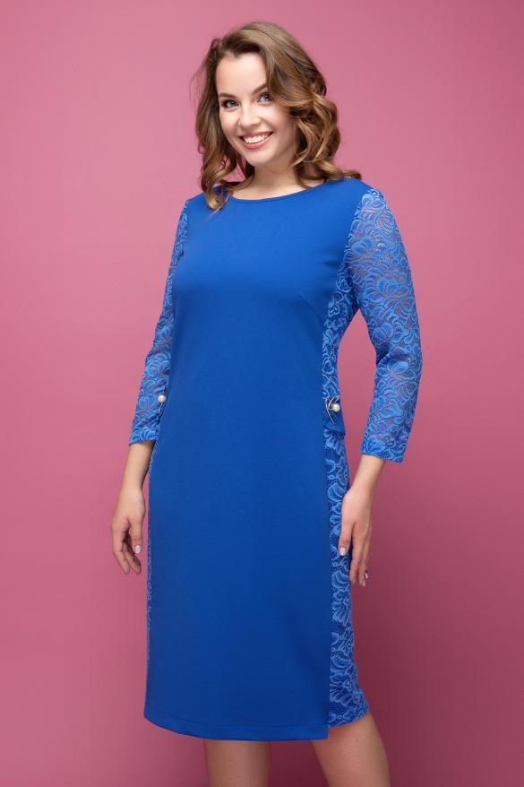 Платье электрик Джулия