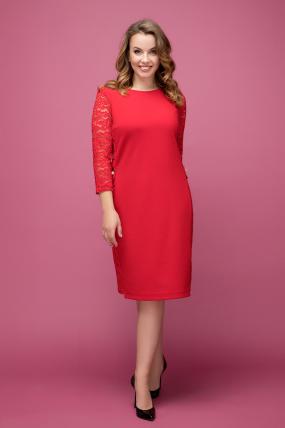 Платье красное Джулия