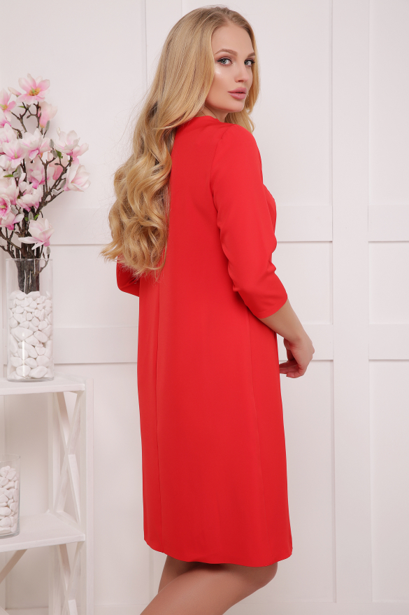 Платье красное Магия