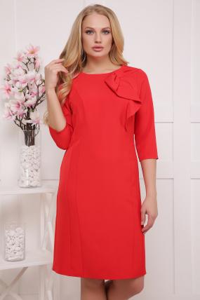 Платье красное Магия 2056