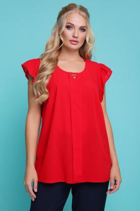 Блуза красная Тюльпан