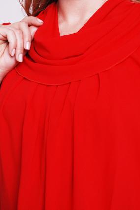 Платье красное Турция 2064