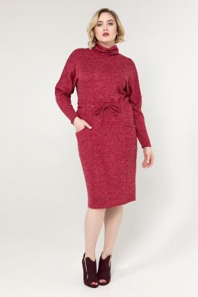 Платье марсала Регина