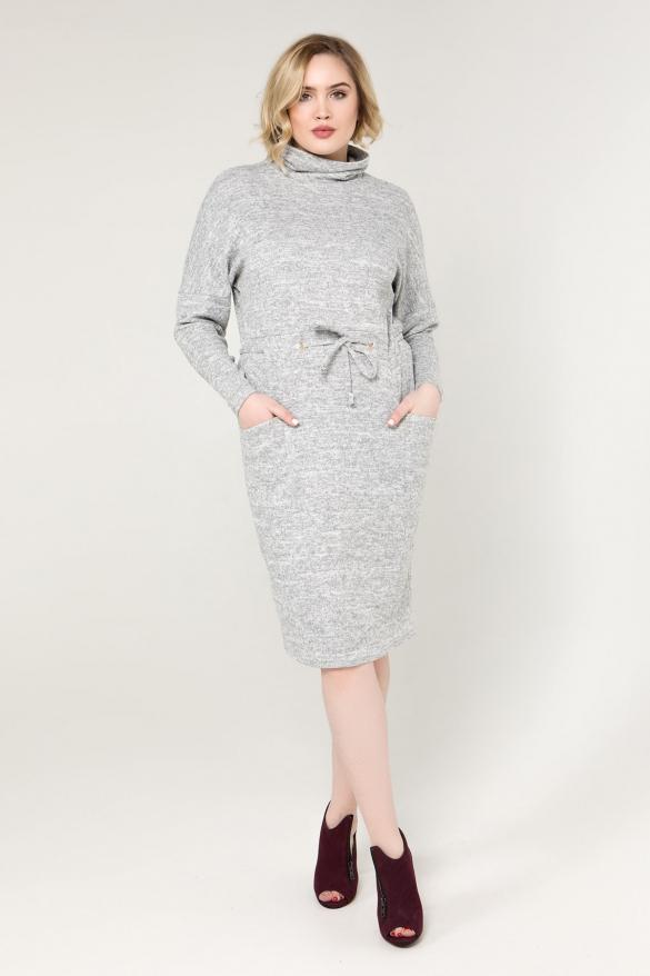 Сукня сіра Регіна