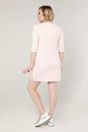 Платье пудра Мэйми 2083