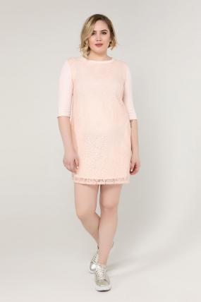 Сукня пудра Меймі 2084