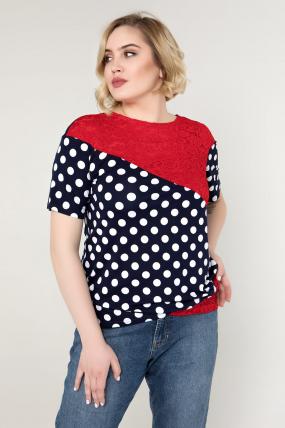 Блуза красная Нина