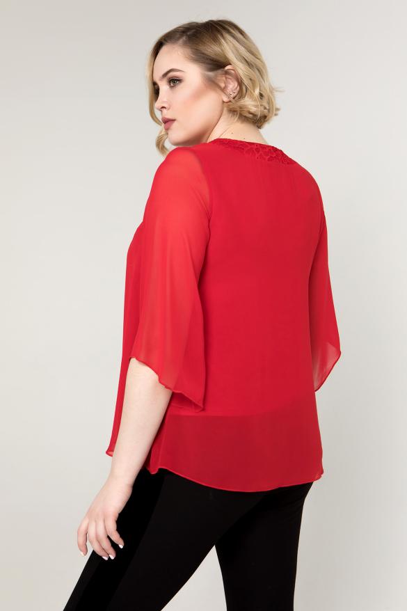 Блуза красная Арина