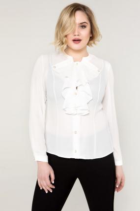 Блуза біла Галина 2107